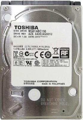 Жесткий диск Toshiba MQ01ABC 1.5TB (MQ01ABC150) - общий вид