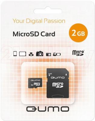 Карта памяти Qumo MicroSD Y&Y 2 Gb (QM2GMICSD) - общий вид