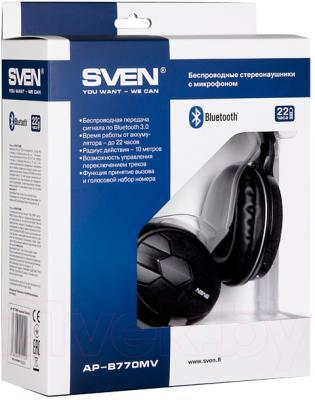Наушники-гарнитура Sven AP-B770MV - упаковка