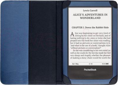 Обложка для электронной книги PocketBook PBPUC-640-BL - с электронной книгой