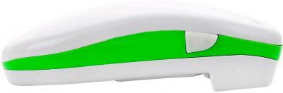 Консервный нож электрический Polaris PCO 3011 (бело-зеленый) - вид сбоку
