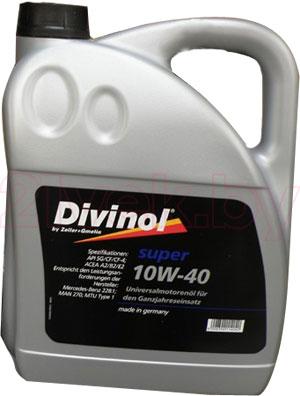 Масло Divinol Super 10W-40 (4л) - общий вид
