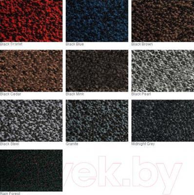 Грязезащитный коврик Kleen-Tex Iron Horse DF-648 (60x85, темно-серый) - палитра