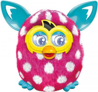"""Интерактивная игрушка Hasbro """"Furby Boom"""" Солнечная волна (розово-белая) - общий вид"""
