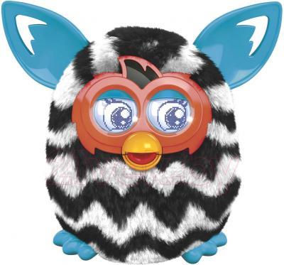 """Интерактивная игрушка Hasbro """"Furby Boom"""" Теплая волна 4339/4342 (черно-белая) - общий вид"""