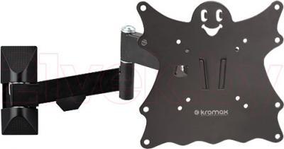 Кронштейн для телевизора Kromax Casper-204 (черный) - общий вид