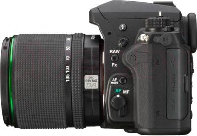 Зеркальный фотоаппарат Pentax K-3 Kit DA 18-135mm WR (черный) - общий вид