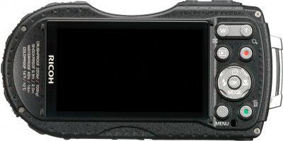 Компактный фотоаппарат Ricoh WG-20 (красный) - вид сзади