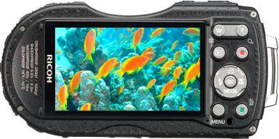 Компактный фотоаппарат Ricoh WG-20 (Black) - экран