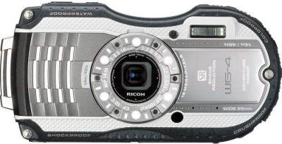 Компактный фотоаппарат Ricoh WG-4 (черно-белый) - общий вид