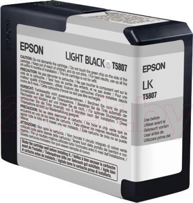 Картридж Epson C13T580700 - общий вид
