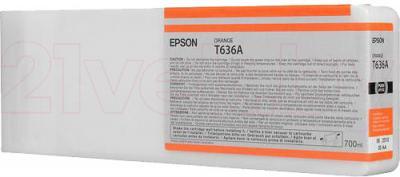 Картридж Epson C13T636A00 - общий вид