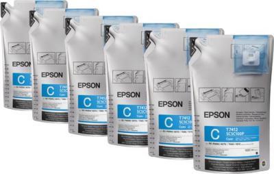 Комплект картриджей Epson C13T741200-2 - общий вид