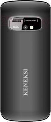 Мобильный телефон Keneksi S2 (черный) - вид сзади
