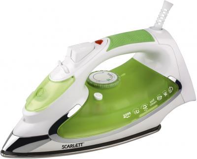 Утюг Scarlett SC-SI30K01 (бело-зеленый) - общий вид