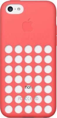 Чехол для телефона Apple Case for iPhone 5c MF036ZM/A (розовый) - общий вид