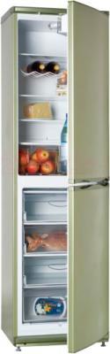 Холодильник с морозильником ATLANT ХМ 6025-070 - с полуоткрытой дверцей