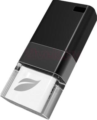 Usb flash накопитель Leef Ice Black 16GB (LFICE-016BLR) - общий вид