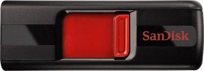 Usb flash накопитель SanDisk Cruzer Black/Red 32GB (SDCZ36-032G-B35) - общий вид