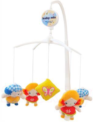 Каруселька на кроватку Baby Mix TK/367М (детки) - общий вид