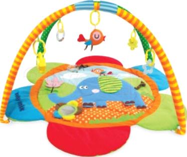 Игровой коврик Baby Mix ТК/3287С (слоник) - общий вид