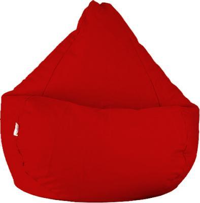 Бескаркасное кресло Baggy Груша Мини (бордовое) - общий вид