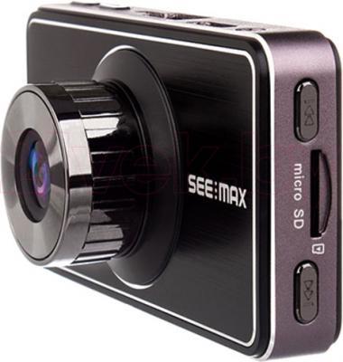 Автомобильный видеорегистратор SeeMax DVR RG 520 GPS ver.2 (Black) - вполоборота