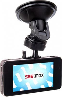 Автомобильный видеорегистратор SeeMax DVR RG 520 GPS ver.2 (Black) - дисплей