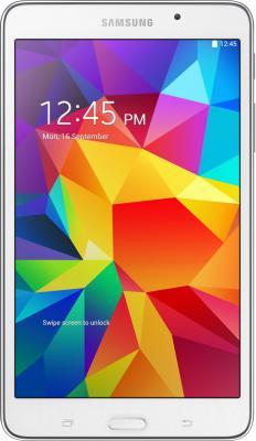 Планшет Samsung Galaxy Tab4 7.0 8GB / SM-T230 (белый) - фронтальный вид