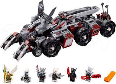 Конструктор Lego Chima Бронетранспортер Волка Воррица (70009) - общий вид