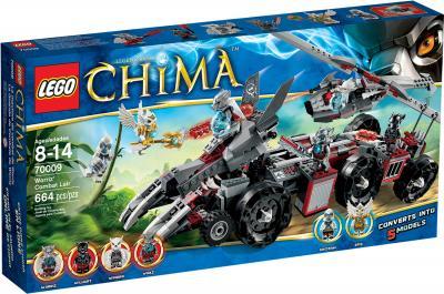 Конструктор Lego Chima Бронетранспортер Волка Воррица (70009) - упаковка