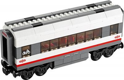 Конструктор Lego City Скоростной пассажирский поезд (60051) - вагон