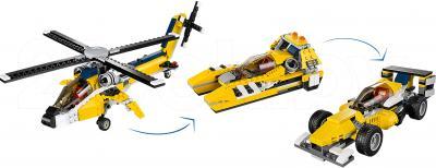 Конструктор Lego Creator Желтый скоростной вертолет (31023) - варианты сборки