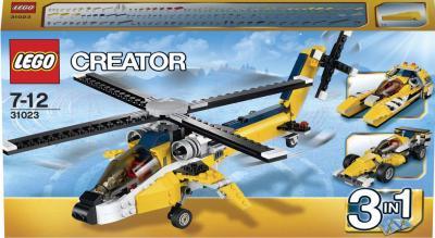 Конструктор Lego Creator Желтый скоростной вертолет (31023) - упаковка