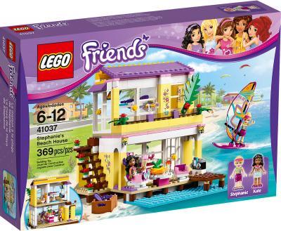 Конструктор Lego Friends Пляжный домик Стефани (41037) - упаковка