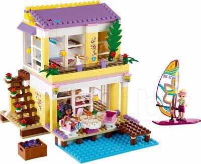 Конструктор Lego Friends Пляжный домик Стефани (41037) - общий вид