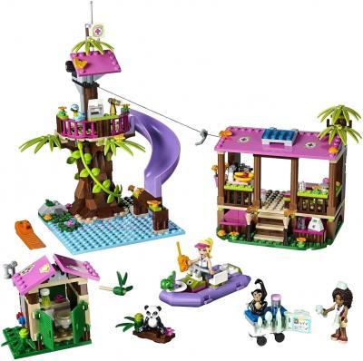 Конструктор Lego Friends Джунгли: Штаб спасателей (41038) - общий вид