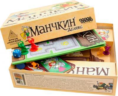 Настольная игра Мир Хобби Манчкин Делюкс - комплект игры