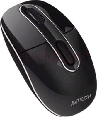 Мышь A4Tech Wireless G7-300N-1 (Black) - общий вид