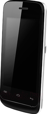 Мобильный телефон Explay Space (White) - вполоборота