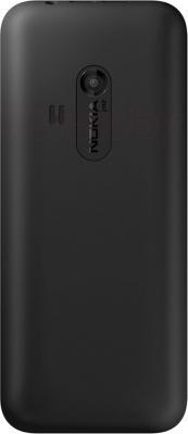 Мобильный телефон Nokia 220 (черный) - вид сзади