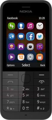 Мобильный телефон Nokia 220 (черный) - общий вид