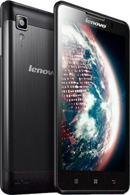 Смартфон Lenovo P780 Dual (Black) - с задней панелью