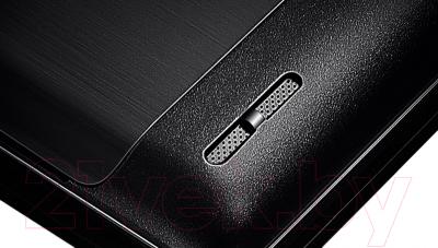 Смартфон Lenovo P780 Dual (Black) - шлифованная поверхность