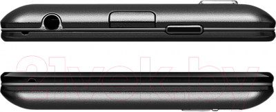 Смартфон Lenovo P780 Dual (Black) - верхняя и нижняя панели