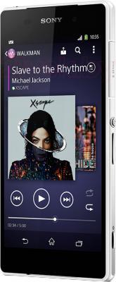 Смартфон Sony Xperia Z2 / D6502 (белый) - общий вид