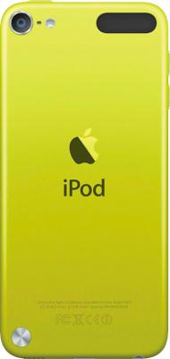 MP3-плеер Apple iPod touch 16Gb MGG12RP/A (желтый) - вид сзади