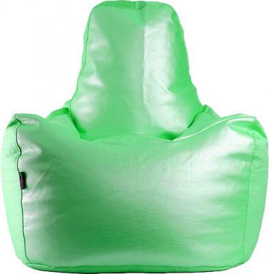 Бескаркасное кресло Baggy Спортинг (салатовое) - общий вид