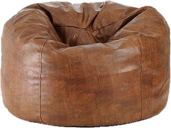 Бескаркасное кресло Baggy Вулкан (коричневое) - общий вид