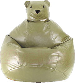 Бескаркасное кресло Baggy Мишка (слоновая кость-бежевое) - общий вид